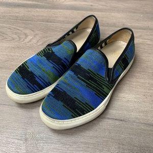 Missoni Blue Slip On Flat Sneakers 36
